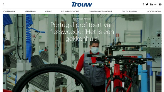 Incycles on Trouw.NL