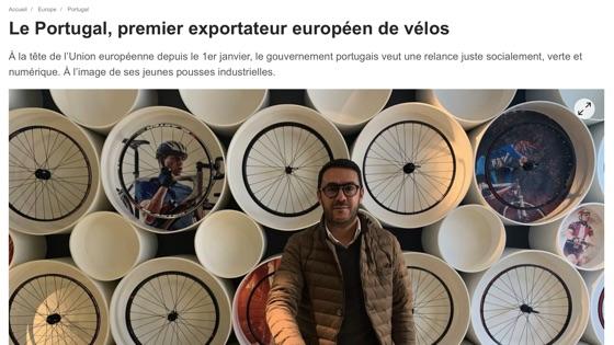 Le Portugal, premier European export exporter
